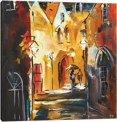 Old City Canvas Art Print