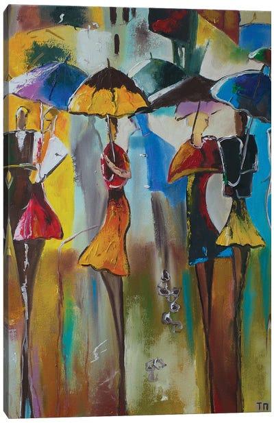 April Showers Canvas Art Print