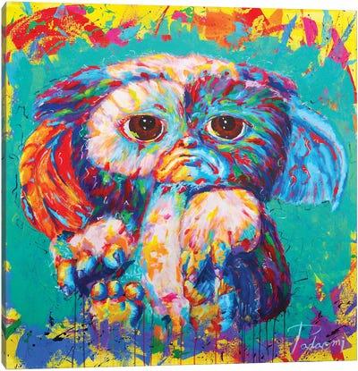 Gizmo Canvas Art Print