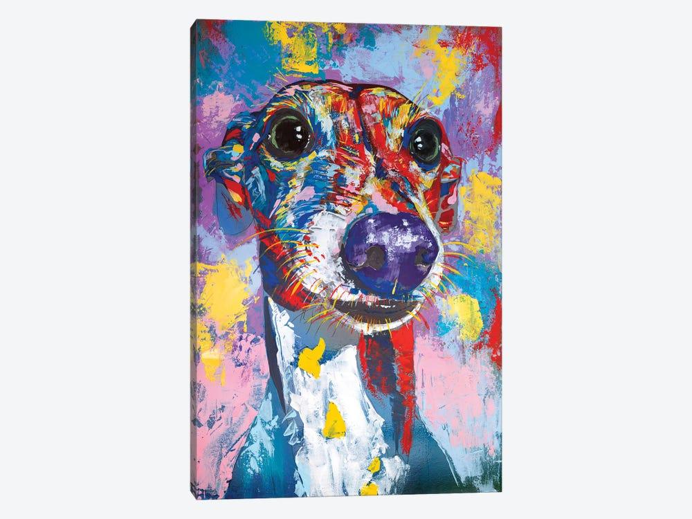 Italian Greyhound III by Tadaomi Kawasaki 1-piece Canvas Artwork