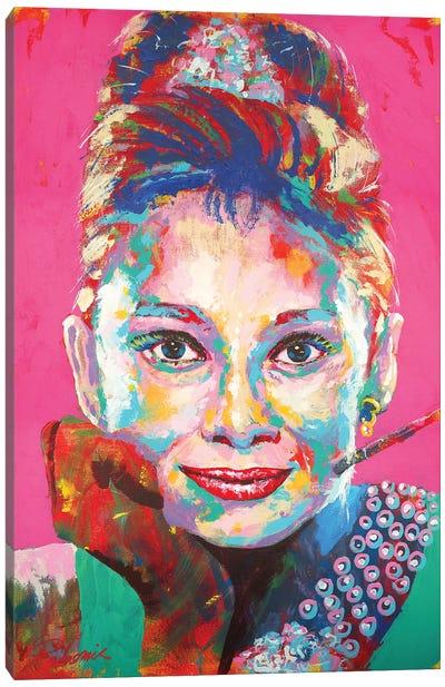 Audrey Hepburn I Canvas Art Print