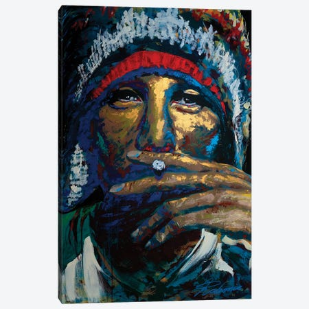 Jamiroquai Canvas Print #TKA22} by Tadaomi Kawasaki Canvas Art Print