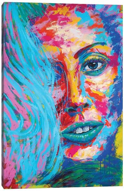 Lady Gaga III Canvas Art Print