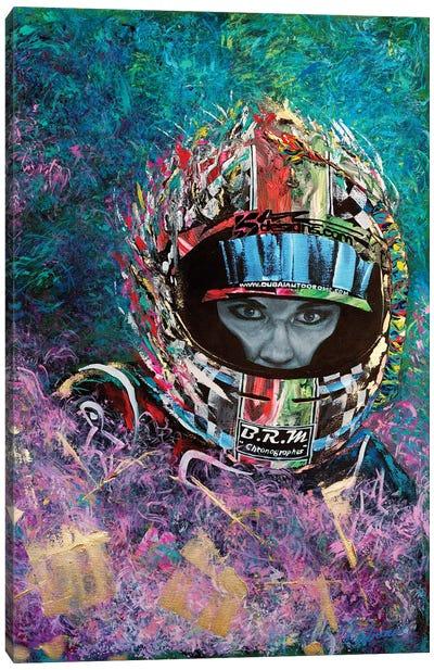 Racer Laura Luft Canvas Art Print