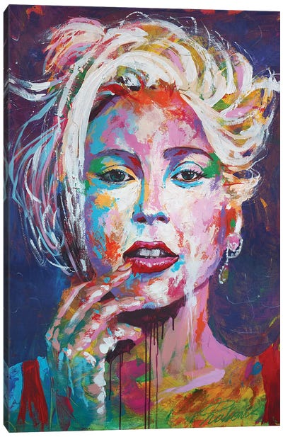 Lady Gaga I Canvas Art Print