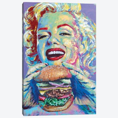 Marilyn Monroe III Canvas Print #TKA29} by Tadaomi Kawasaki Canvas Print