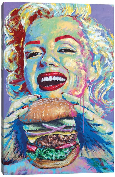 Marilyn Monroe III Canvas Art Print