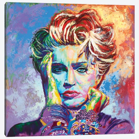 Madonna Canvas Print #TKA30} by Tadaomi Kawasaki Canvas Art