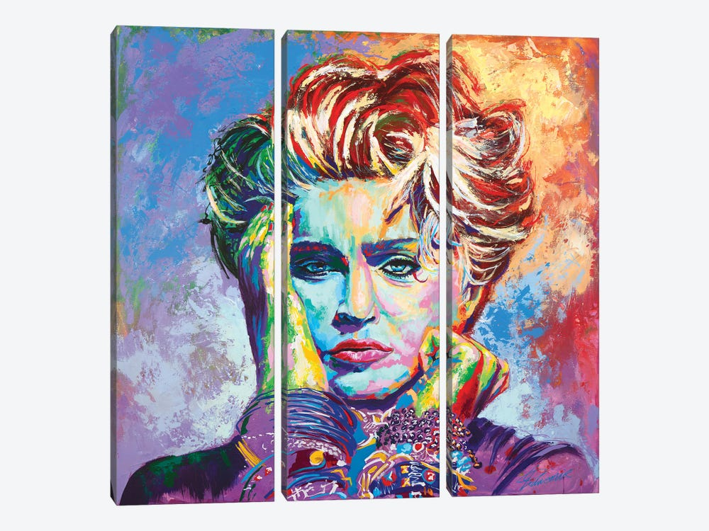Madonna by Tadaomi Kawasaki 3-piece Canvas Art Print
