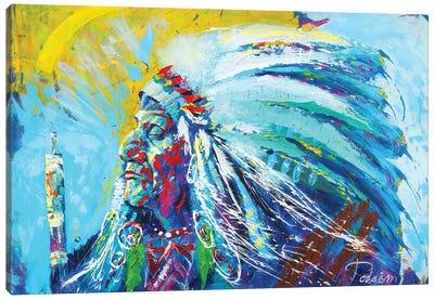 Native American Canvas Art Print