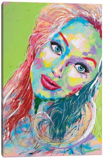 Miss. Lady Canvas Art Print