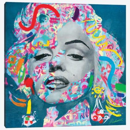 Marilyn Monroe V Canvas Print #TKA42} by Tadaomi Kawasaki Art Print