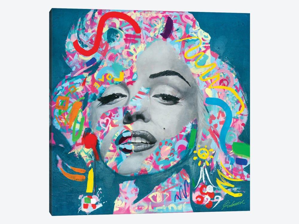 Marilyn Monroe V by Tadaomi Kawasaki 1-piece Canvas Artwork