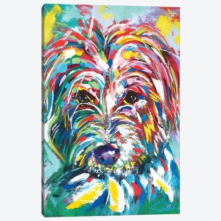 Dog I Canvas Print #TKA45} by Tadaomi Kawasaki Canvas Wall Art