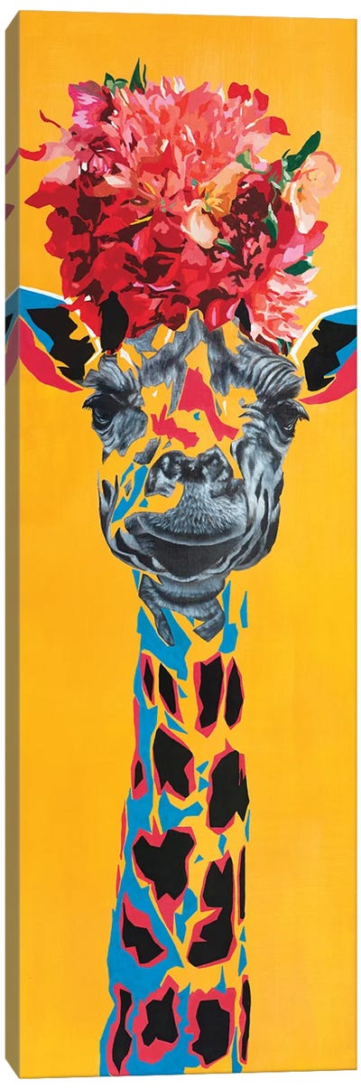 Giraffe II Canvas Art Print