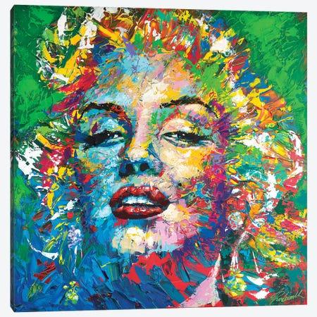 Marilyn Monroe VII Canvas Print #TKA53} by Tadaomi Kawasaki Canvas Artwork