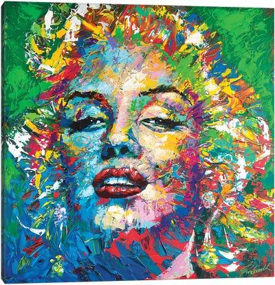 Marilyn Monroe VII Canvas Art Print