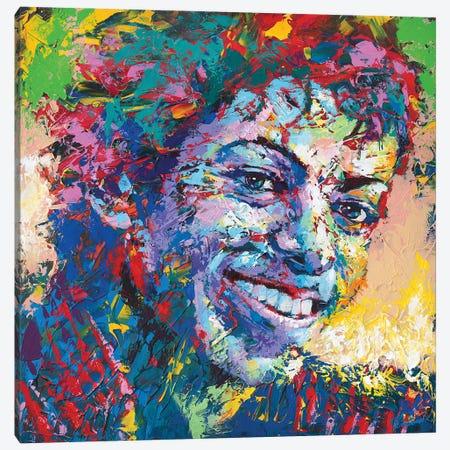 Michael Jackson Canvas Print #TKA54} by Tadaomi Kawasaki Canvas Art Print