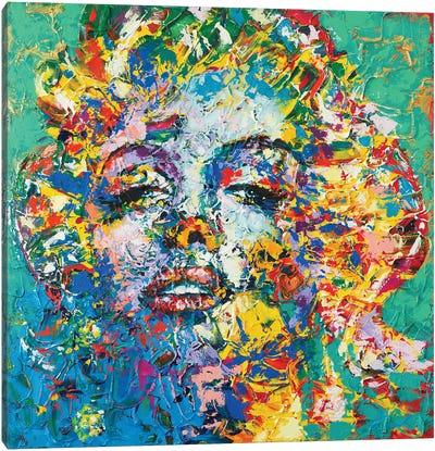 Marilyn Monroe X Canvas Art Print