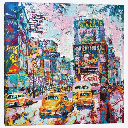 Happy New York 1970's Canvas Print #TKA61} by Tadaomi Kawasaki Canvas Print