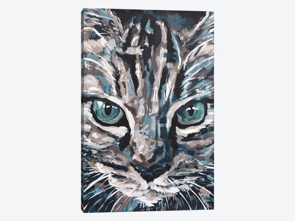 Cat I by Tadaomi Kawasaki 1-piece Canvas Wall Art