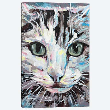 Cat II Canvas Print #TKA8} by Tadaomi Kawasaki Canvas Art Print