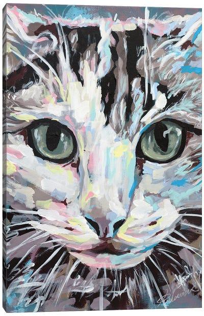Cat II Canvas Art Print