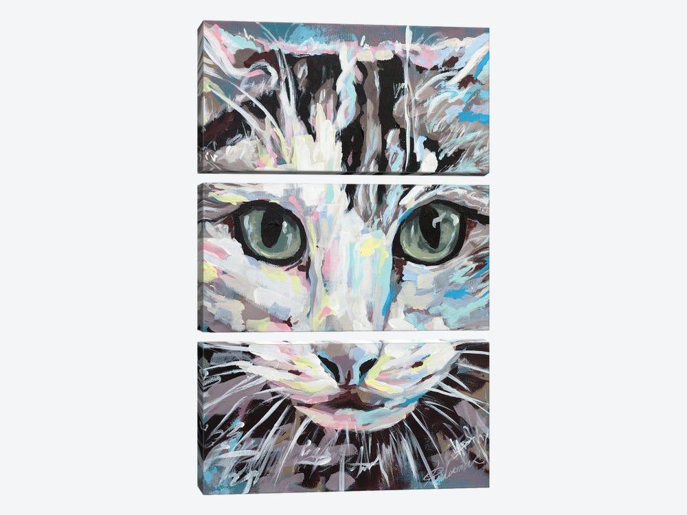 Cat II by Tadaomi Kawasaki 3-piece Art Print