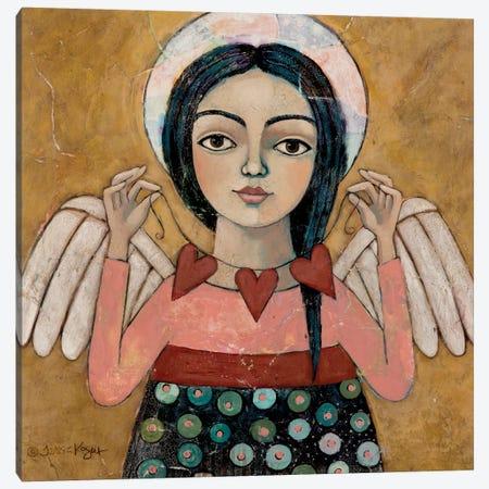 Heartstrings Divinity Calendar Canvas Print #TKG105} by Teresa Kogut Canvas Artwork
