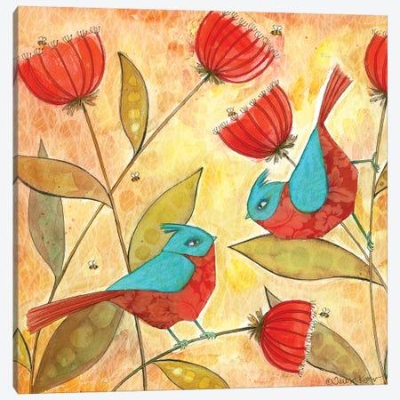 Hello Friend Canvas Print #TKG108} by Teresa Kogut Canvas Art Print