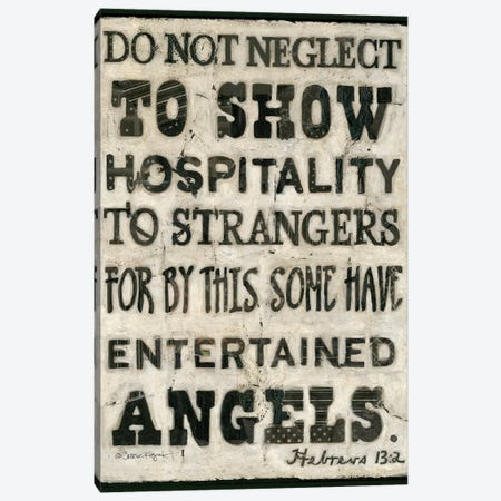 Hospitality Canvas Print #TKG112} by Teresa Kogut Canvas Artwork