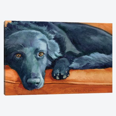 Kasey Canvas Print #TKG114} by Teresa Kogut Art Print