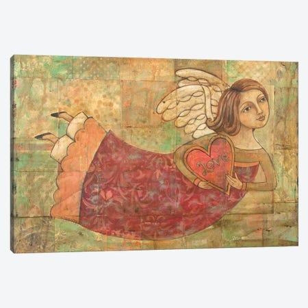 Love In Your Heart Canvas Print #TKG121} by Teresa Kogut Art Print