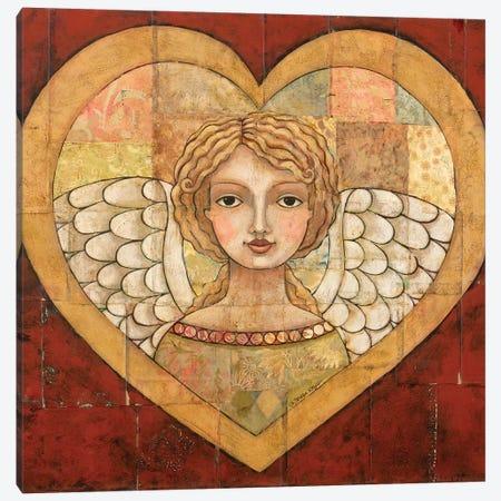 Love Is Of God With Scripture Canvas Print #TKG122} by Teresa Kogut Art Print