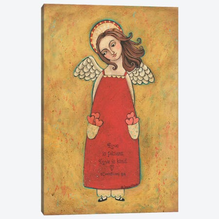 Love Is Patient Canvas Print #TKG123} by Teresa Kogut Canvas Print
