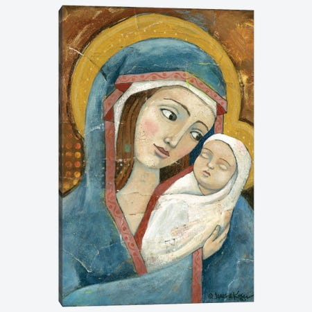 Madonna & Child Canvas Print #TKG128} by Teresa Kogut Canvas Art Print