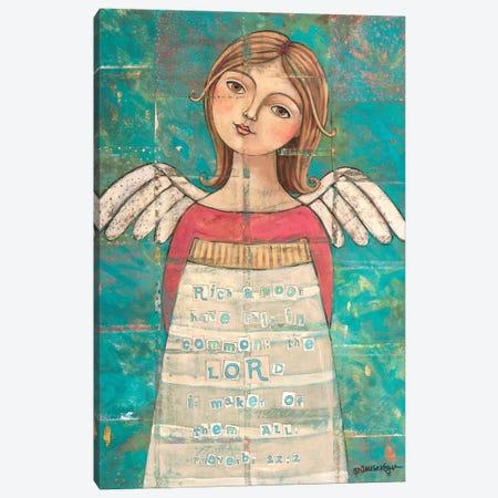 Maker Of Them All With Scripture Canvas Print #TKG130} by Teresa Kogut Canvas Wall Art