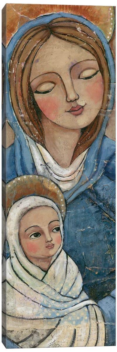 Mary Jesus Canvas Art Print