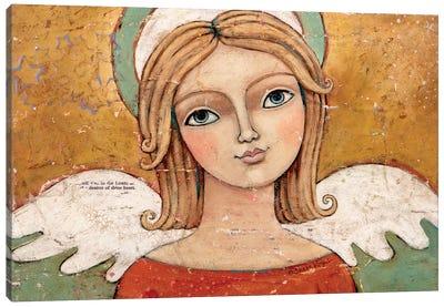 Mercy Peace & Love Canvas Art Print