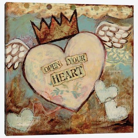 Open Your Heart Canvas Print #TKG141} by Teresa Kogut Canvas Print