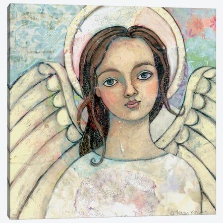 Peace Be With You Canvas Print #TKG145} by Teresa Kogut Canvas Art