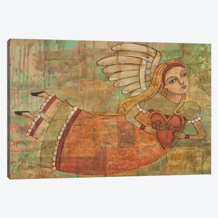 Peace In Your Heart Canvas Print #TKG146} by Teresa Kogut Canvas Artwork