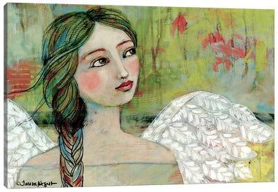 Peaceful Gaze Canvas Art Print