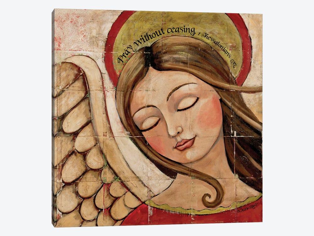 Pray Without Ceasing by Teresa Kogut 1-piece Canvas Art