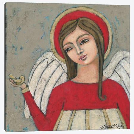 Protector Canvas Print #TKG154} by Teresa Kogut Canvas Art Print
