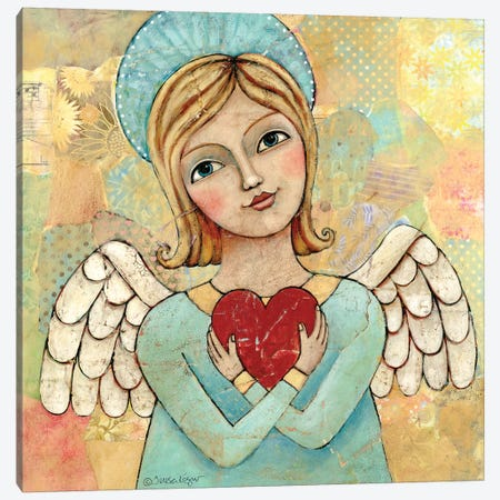 Pure Of Heart 2 Canvas Print #TKG157} by Teresa Kogut Canvas Print
