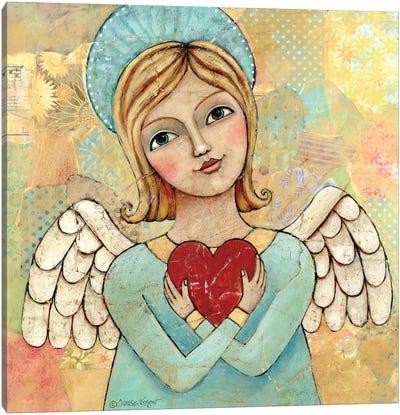 Pure Of Heart 2 Canvas Art Print