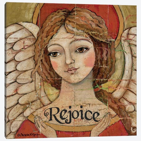 Rejoice Divinity Canvas Print #TKG159} by Teresa Kogut Canvas Wall Art