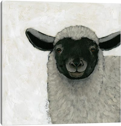 Sadie Sheep Canvas Art Print