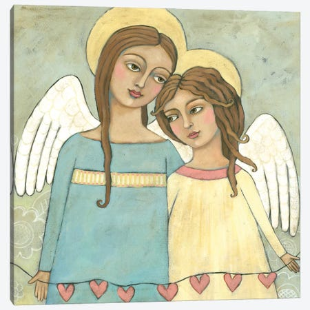 Sisters, Too Canvas Print #TKG166} by Teresa Kogut Canvas Art